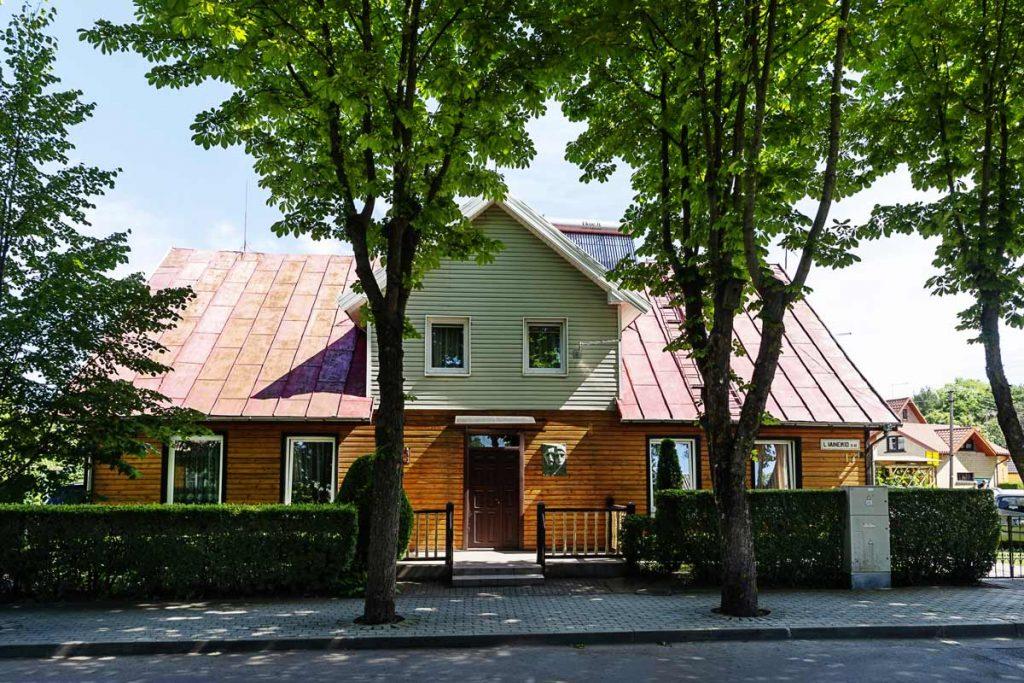 Čiurlionio namas Palangoje