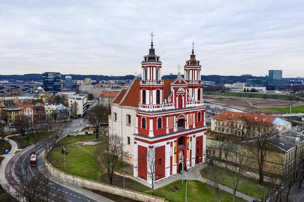 Lukiškių vienuolyno ansamblis Vilniuje