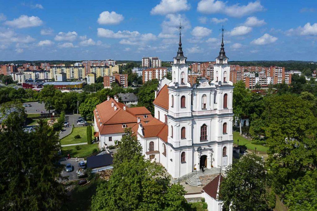 Vilniaus Kalvarijos iš oro